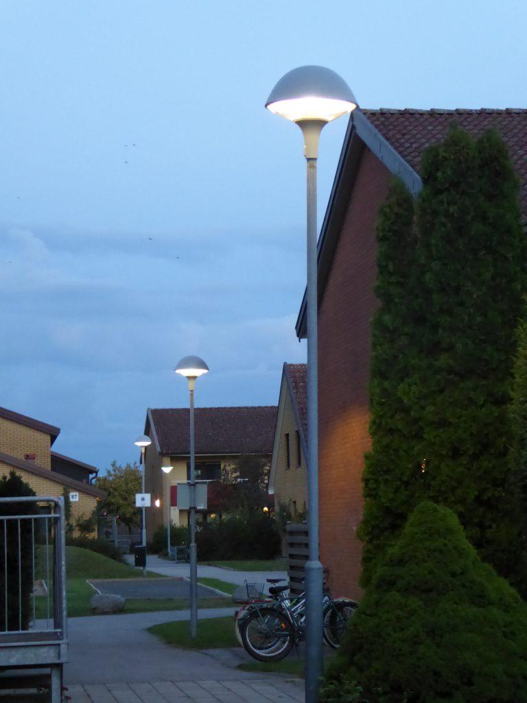 Plurio LED belysning, skymnigsbild.