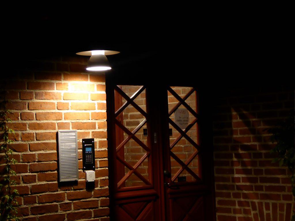 LEDbelysning, Stockholm, Atelje Lyktan. Nattbild